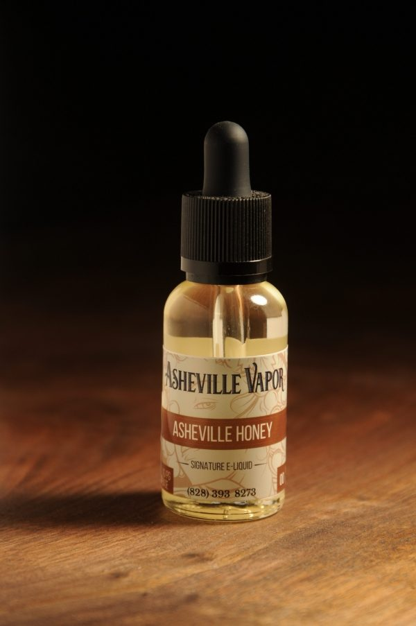Asheville Honey e-Liquid Bottle