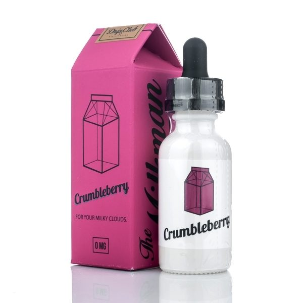 Crumbleberry eJuice Flavor & Packaging