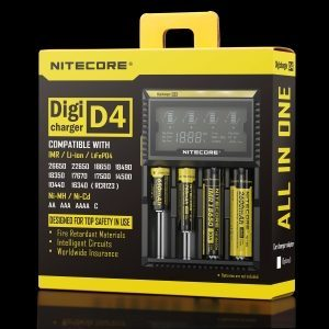 Nitecore D4 Digi Charger Rechargeable Battery Charger