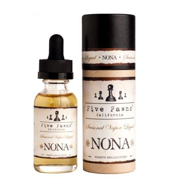 Five Pawns Nona eJuice Bottle & Packaging