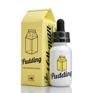 Pudding eJuice Flavor In Packaging